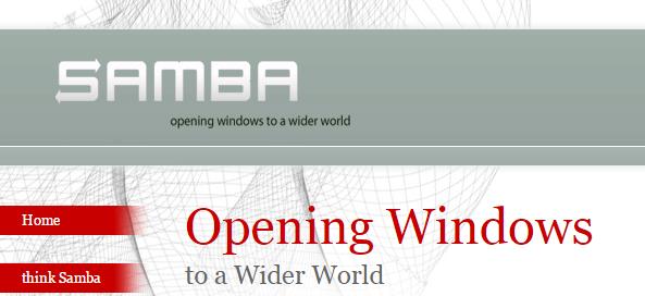 Sambaでシンボリックリンク先にアクセスする方法