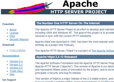 Apacheの実行ユーザー(起動ユーザー)を変更する方法